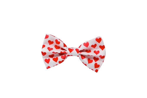 Red Hearts - Bow