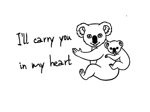I'll Carry You In My Heart Koala - Add-On