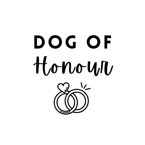 Custom Dog of Honour - Bandana