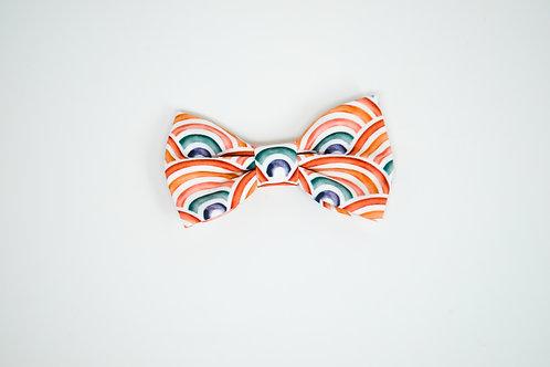 Rainbow Lovey - Bow