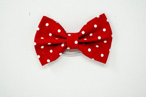 Red Polka-Dot - Bow