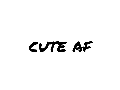 Cute AF Add-On