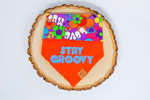 Stay Groovy - Bandana