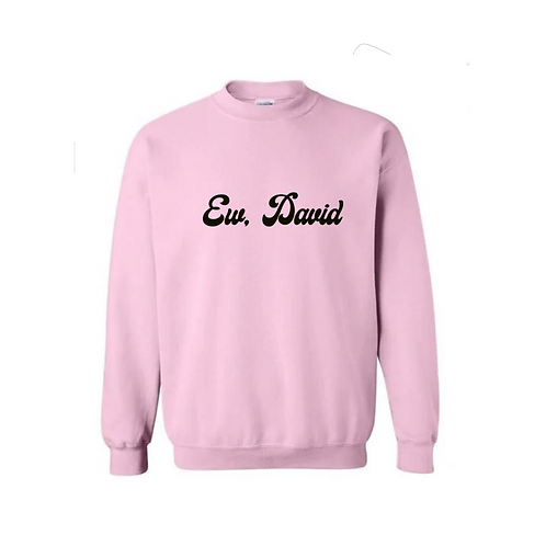 Ew, David - Crew Neck Sweatshirt