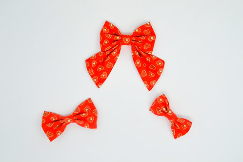 Woofle Hearts - Bow