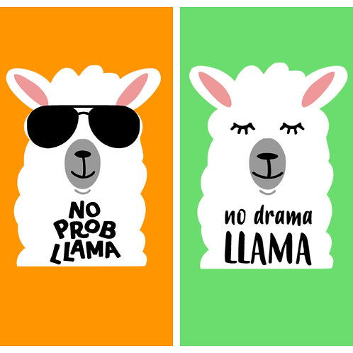 Llama - Bandana