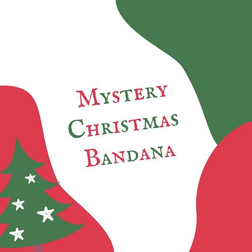 Mystery Christmas Bandana