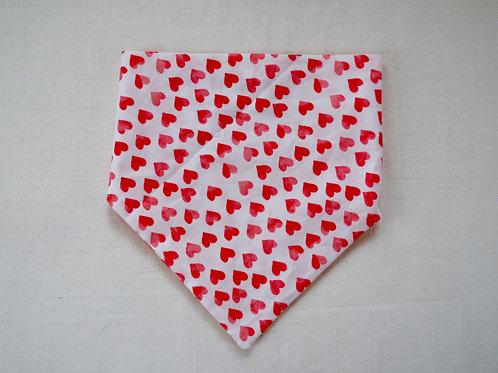 Red Hearts Bandana