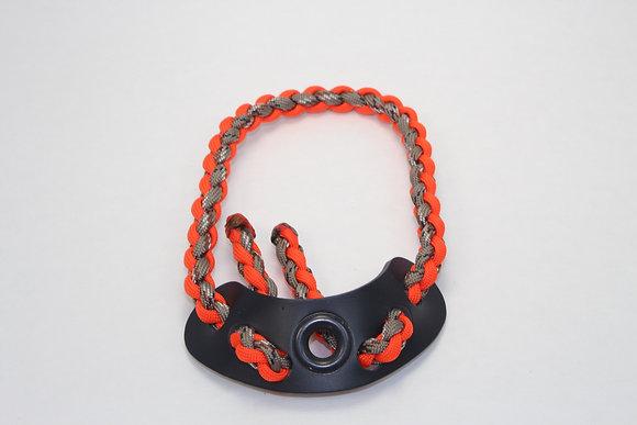 Orange/ Tan Camo Diamond Slim Wrist Sling