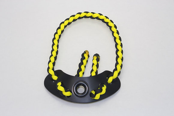 Black/ Neon Yellow Diamond Slim Wrist Sling
