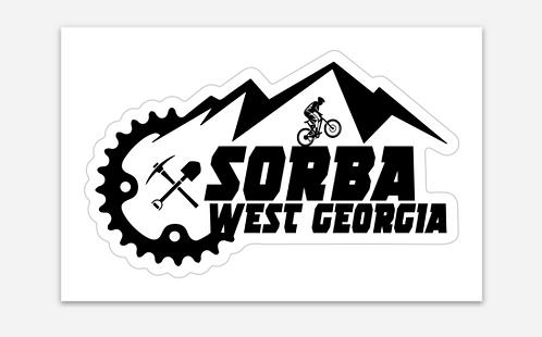 SORBA West Georgia Sticker