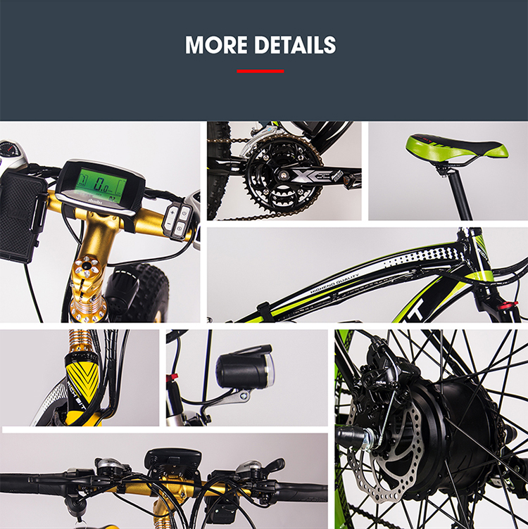 electric fat bike parts