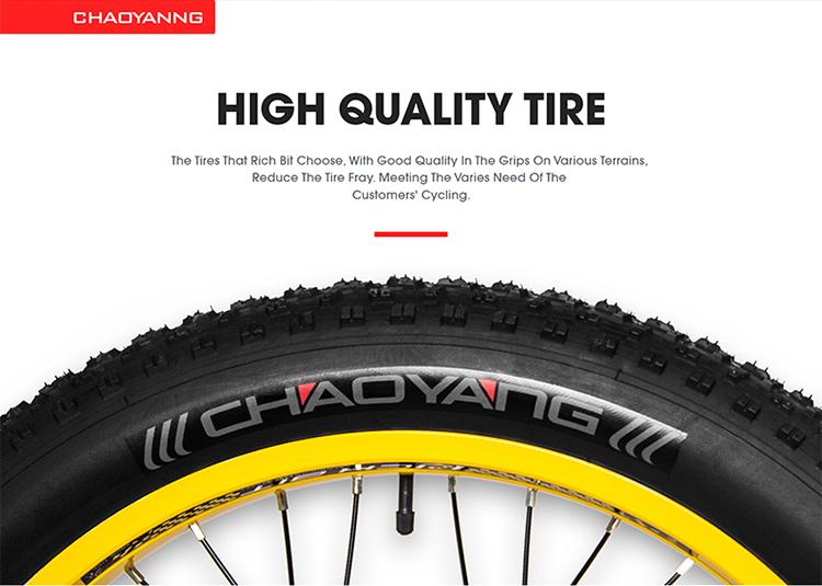 electric fat bike tire