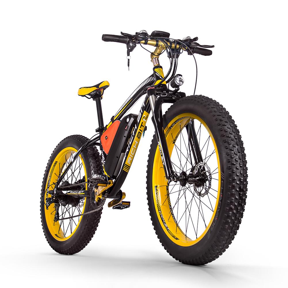 Mountain e-bike 1000w yellow
