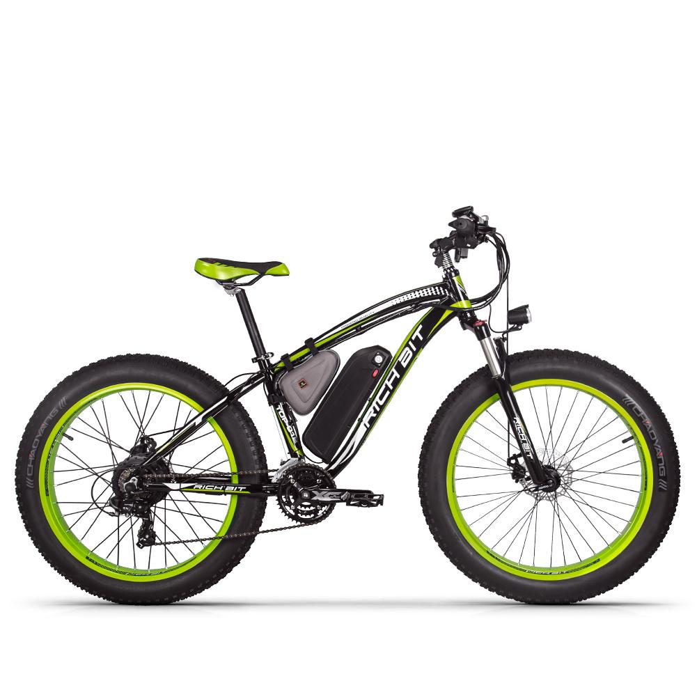 Mountain fat tire e-bike