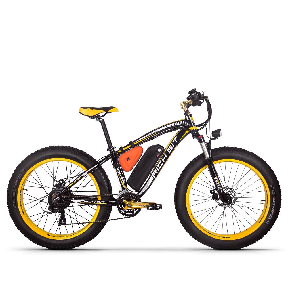 Rich Bit mountain fat tire e-bike