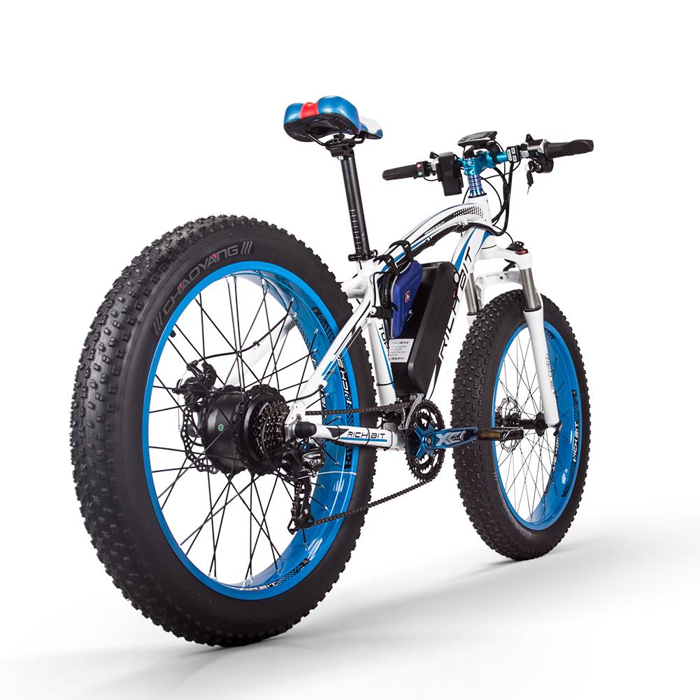 electric mountain bike uk blue