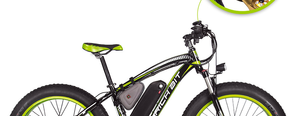 Limited Mid July Pre-order: Rich Bit Mountain Ebike with Fat Tires