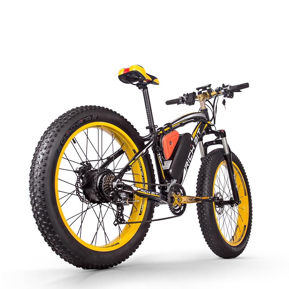 electric mountain bike uk yellow