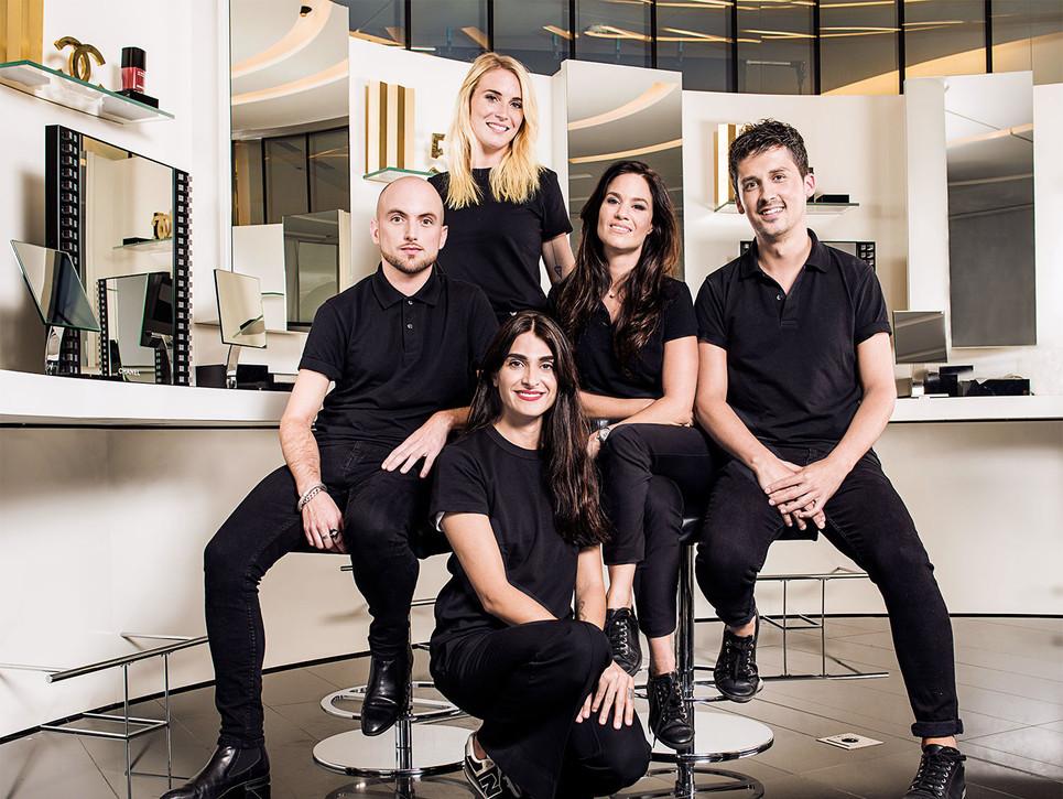 Chanel, make-up Team