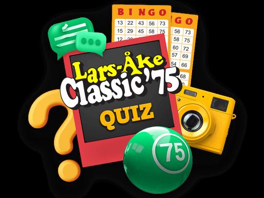 Picture Quiz in Lars-Åke Classic '75