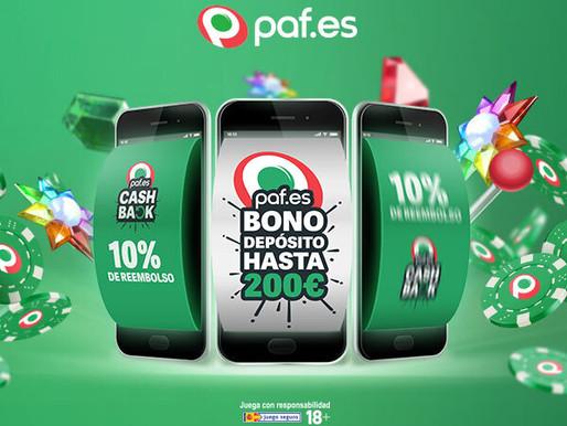 New Welcome Bonus on Paf.es!