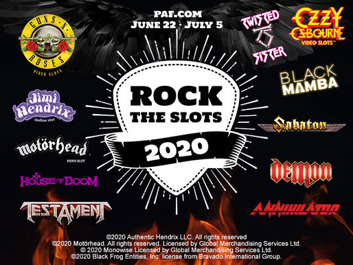 Play your favourite Rock Slots to win!