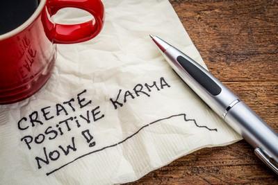 Create Positive Karma Now