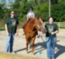 Therapuetic horseback riding program Greenfield Indiana