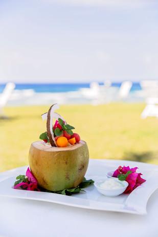Fresh coconut at Tamanu.jpg