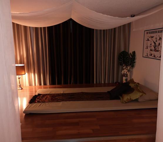 Thai Warrior Massage Room