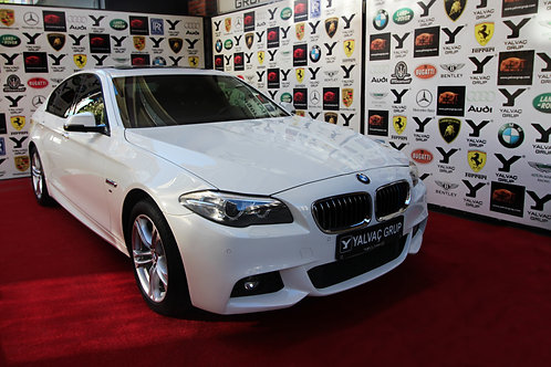 ''YALVAÇ GRUP FARKIYLA 2015 MODEL BMW 5.25D XDRIVE EXECUTIVE MSPORT''