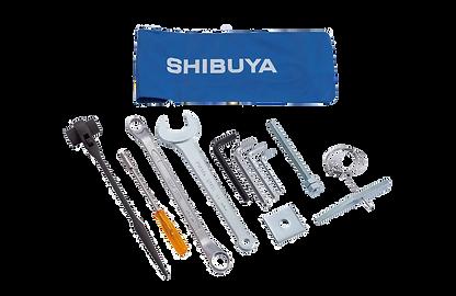 Standard tool kit TS-403 'A' SHIBUYA Core drill- R2231