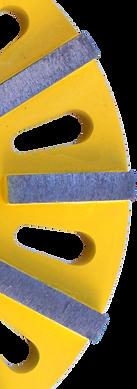STRAIGHT grinding disc segment