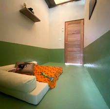 The cozy feel of ones own bedroom...