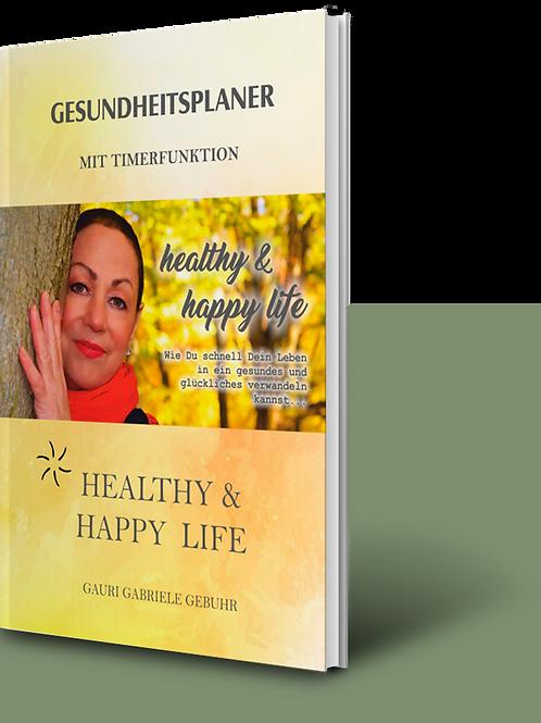 BUCH: Gesundheitsplaner mit Timerfunktion
