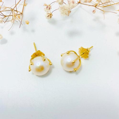 Perlas Cultivadas Oro 18 kilates