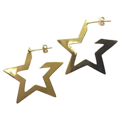 Aros Star chico Dorados