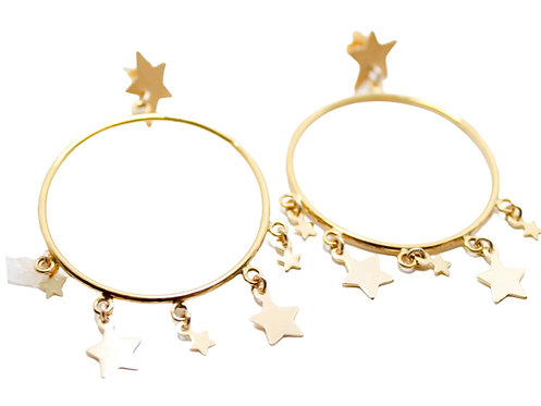 Aros Star Mini Dorados