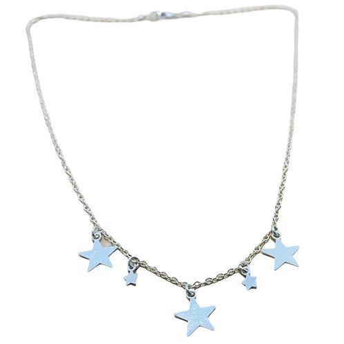 Collar Estrellas Silver