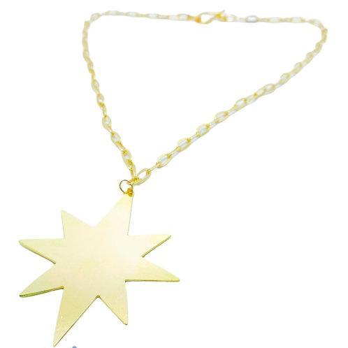 Collar Estrella 8 puntas