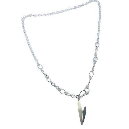 Collar broche Silver