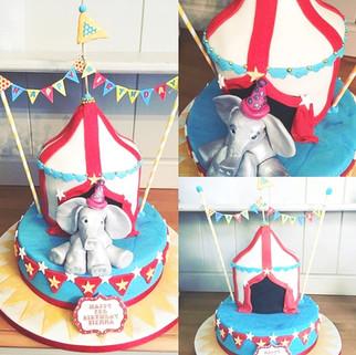 Circus Themed Centrepiece