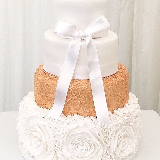 Styled Tiered Cake