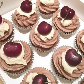 Black Forest Gateau Cupcakes
