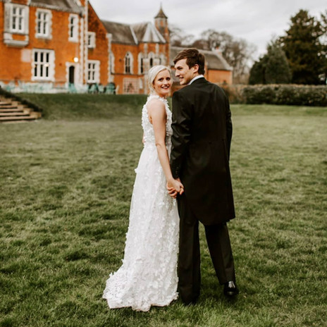 March 14th Wedding of Lauren and Matthew at Thicket Priory