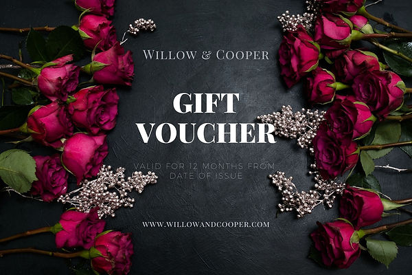 Yorkshire Graphics Gift Voucher Flowers.