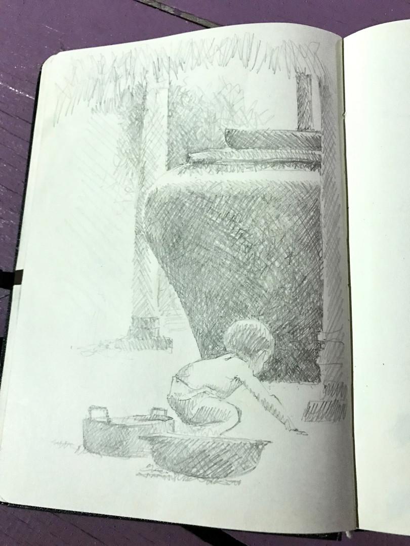 Kampot water pot