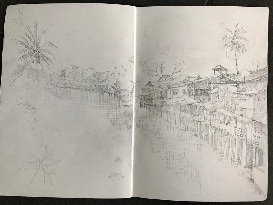 Old town Chantaburri Thailand