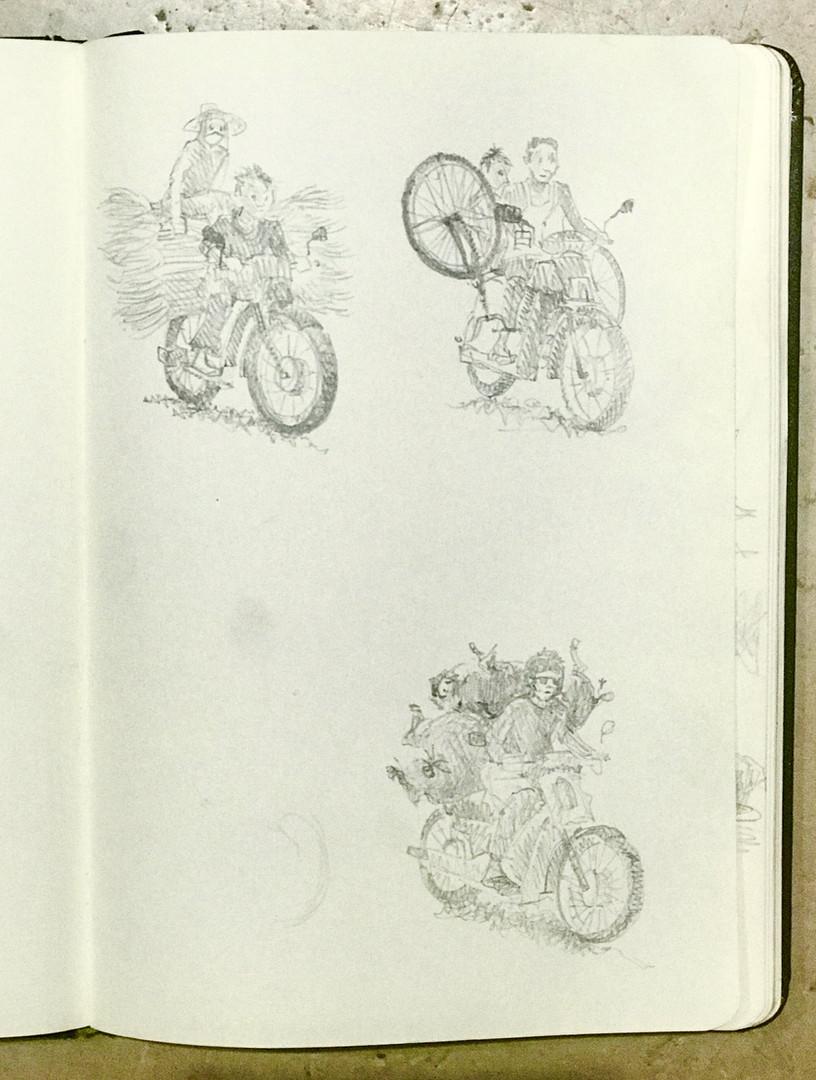 Cambodian Motorbikes